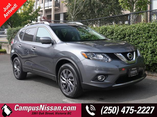Used 2016 Nissan Rogue SL Premium |AWD | Low Km's | One Owner | SUV