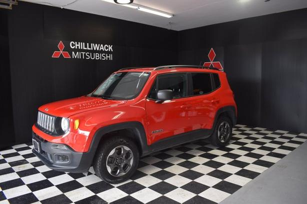 Pre-Owned 2017 Jeep Renegade SPORT Four Wheel Drive Sport Utility