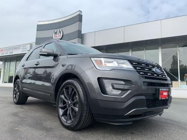 Used 2017 Ford Explorer SPORT 4WD LEATHER SUNROOF NAVI CAMERA 7-PASS SUV