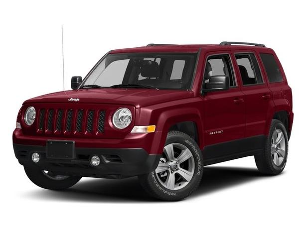Pre-Owned 2017 Jeep Patriot Sport Auto 4WD 4D Sport Utility