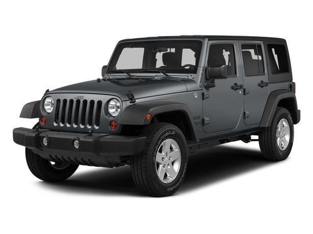 Pre-Owned 2015 Jeep Wrangler Unlimited Sahara Navi Lift Kit 4WD 4D Sport Utility