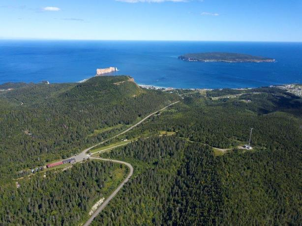 Large commercial land for sale in Perce Gaspesie