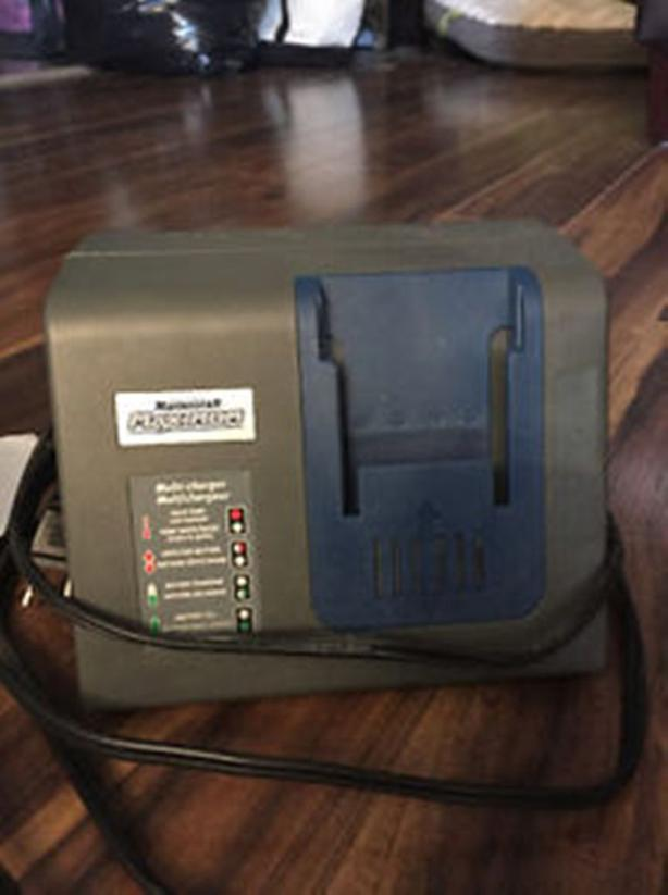 Mastercraft Multi-type battery charger for tools§