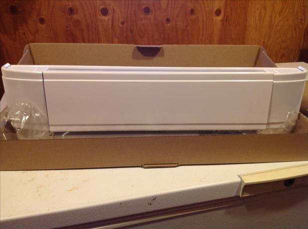 Electric baseboards x 2
