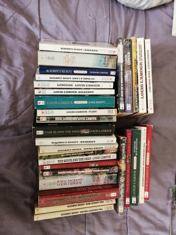 Thirty Louis Lamour Books