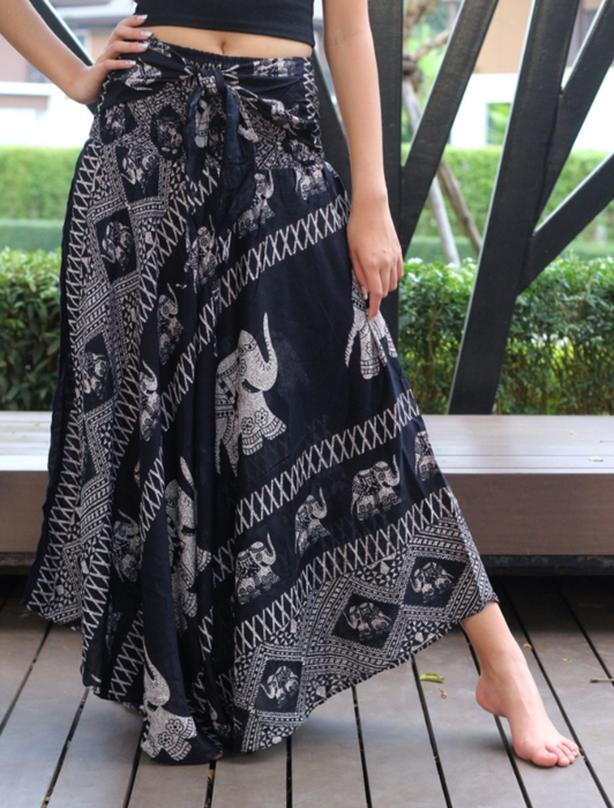 Brand New Plus Size Boho Skirt (fits size L - 3X)