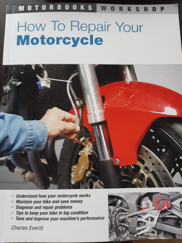 Motorcycle Repair Book