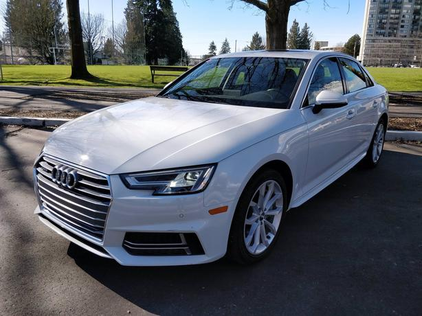 Pre-Owned 2018 Audi A4 2.0T quattro 4D Sedan