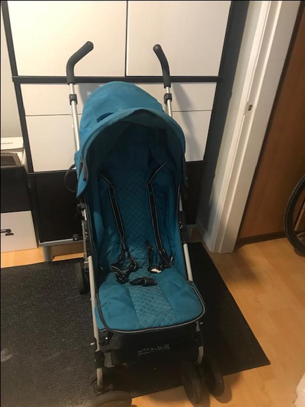 guzzie+Guss Pender Umbrella Stroller, Green