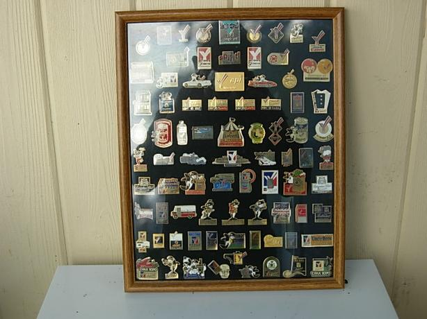 Framed Commonwealth Games pins for sale