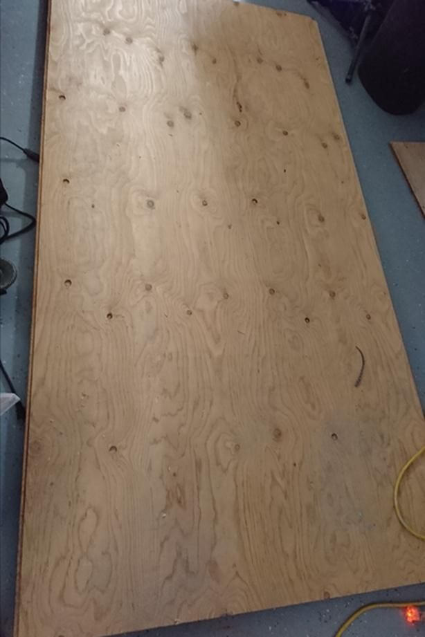 5/8 T and G plywood