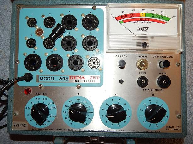 B&K Dyna-Jet 606 Vacuum Tube Tester