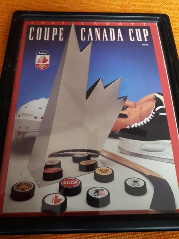 1991 Canada Cup Program
