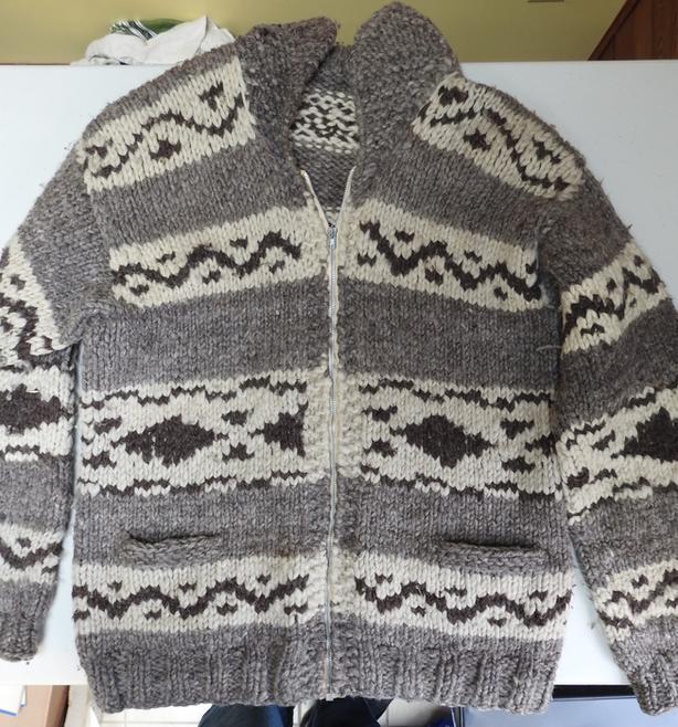 XL Cowichan Sweater