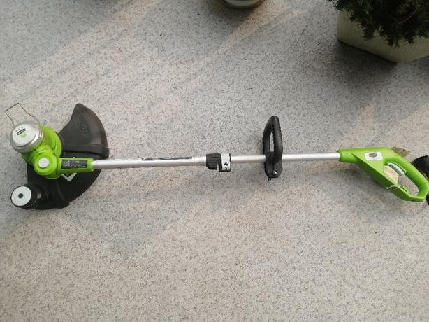 Greenworks electric lawn trimmer