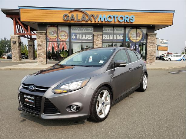 2014 Ford Focus TITANIUM - Leather Interior, Navigation, Satellite Radio
