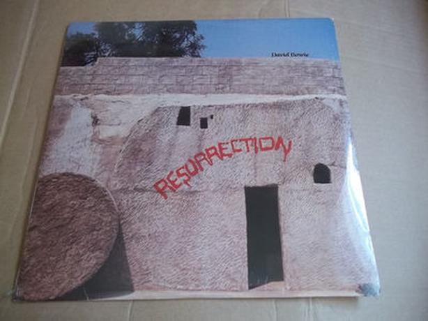 David Bowie rare live double LP 1976 - Resurrection