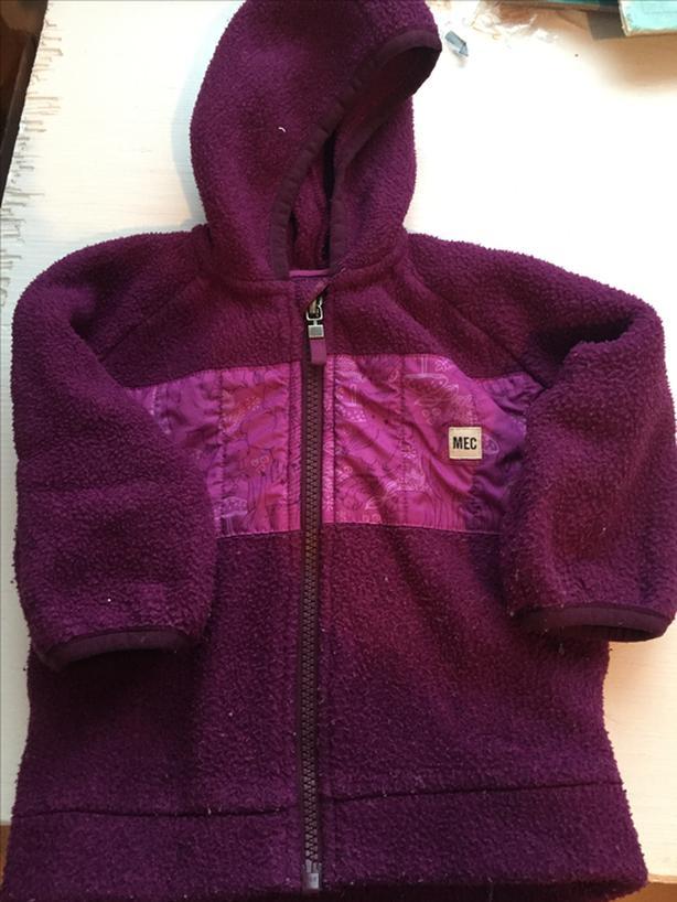 MEC fleece hooded zipup