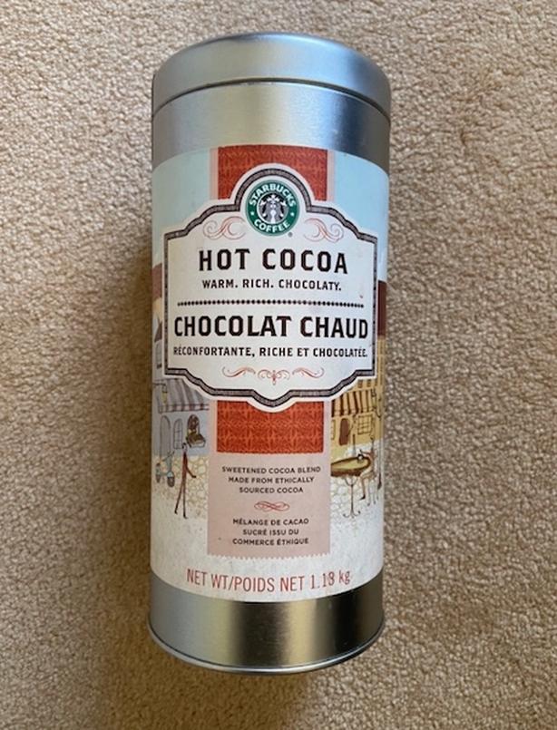 Starbucks Hot Cocoa Tin