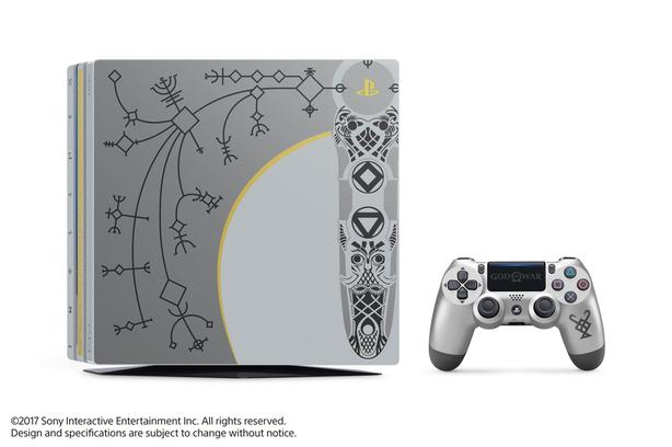 PS4 Pro God of War Edition with Physical game