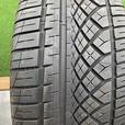 1 X single 255/45/20 Continental extreme contact DWS Tuned 75% tread