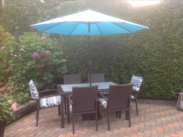 Outdoor Dining Set for 6