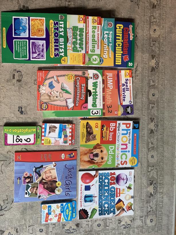 School work books grade 2 and 3