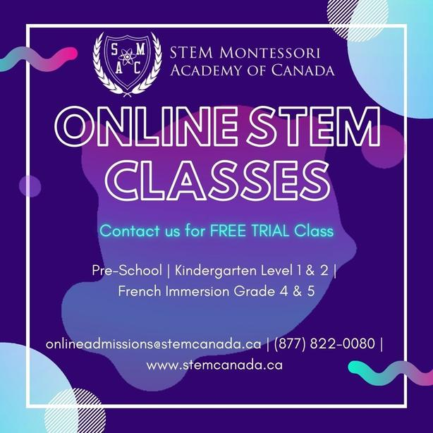 FREE STEM based Online Class for Kindergarten level 1
