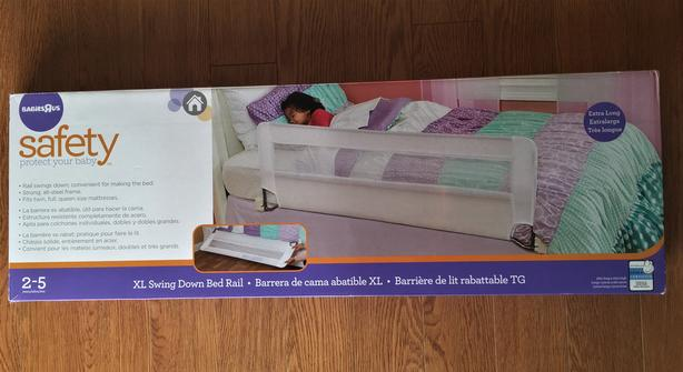 XL Swing Down Bed Rail