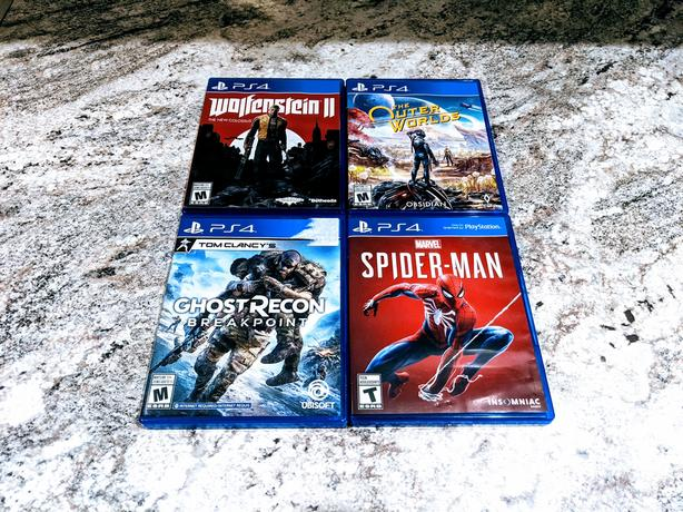 PS4 Game Bundle - 4 Titles | Mint Condition