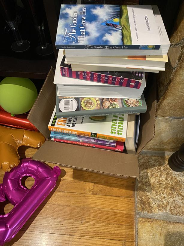 FREE: Stack of books!