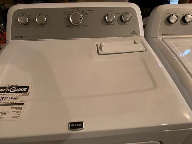 Maytag Bravos Washer & Dryer
