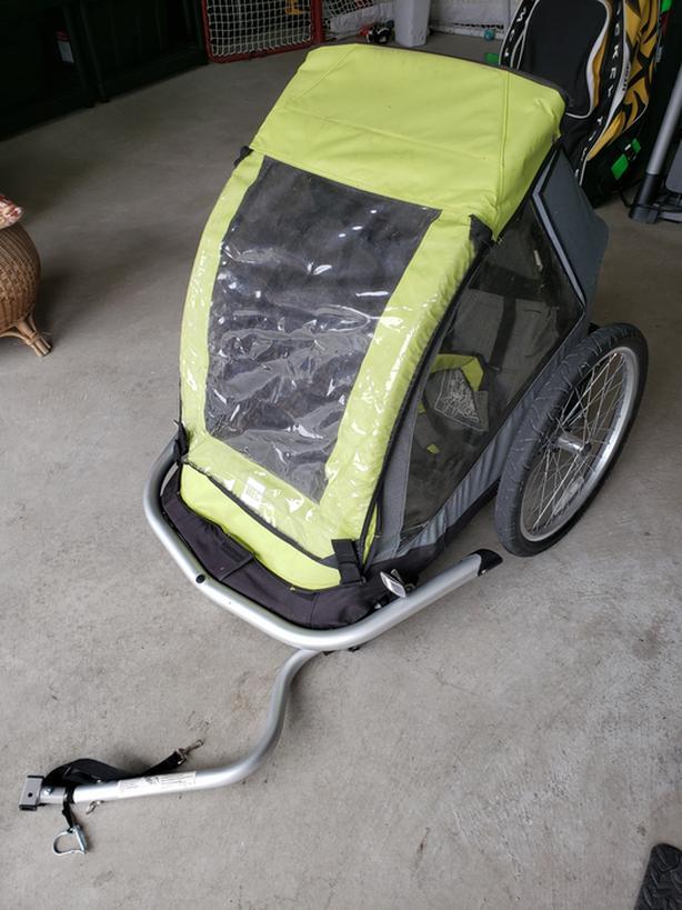 MEC 2 kid / pet bike trailer or jogger