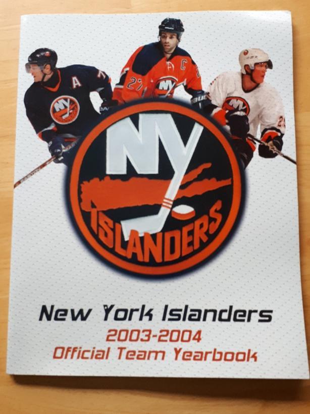 New York Islanders 2003-2004 year book