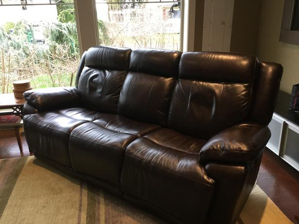Quality Leather Couch