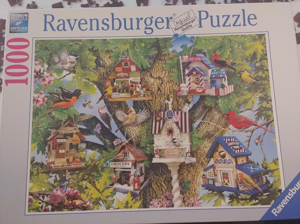 1000 pc Ravensburger Puzzle