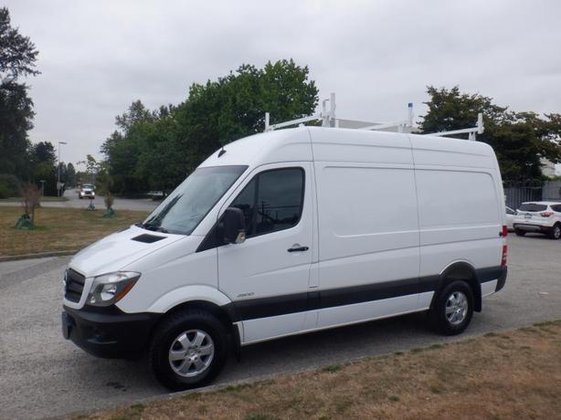2016 Mercedes-Benz Sprinter 2500 Cargo Van 144-in. Wheelbase Diesel with Ladder