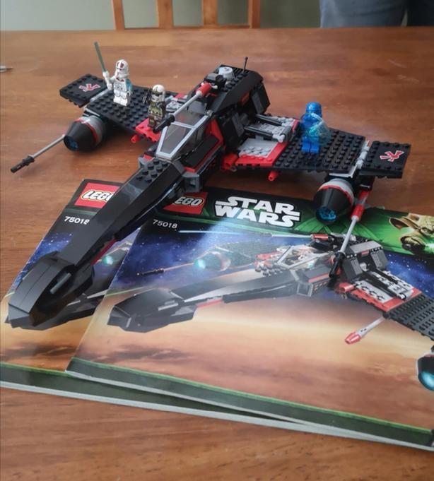 Lego Star Wars #75018 - Jek-14 Stealth Starfighter