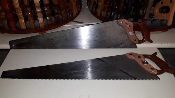 Disston D-95 Handsaws