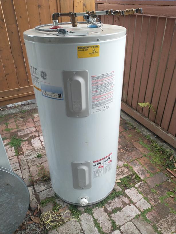 FREE: Hot water heater
