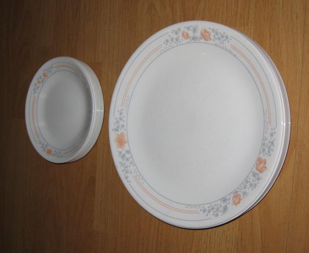 Corelle Corelle dinner and dessert plates, 16-PCs