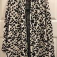 Cynthia R. New York leopard cardigan