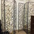 Metal decorative room dividers