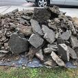 FREE: clean concrete back fill