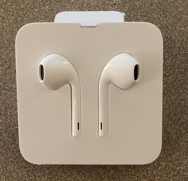 Brand New Apple Earbuds With Lightning Connector