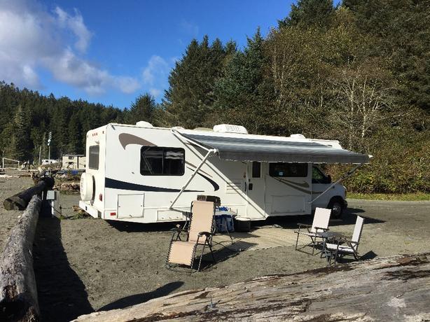 Motorhome rental camping RV renting