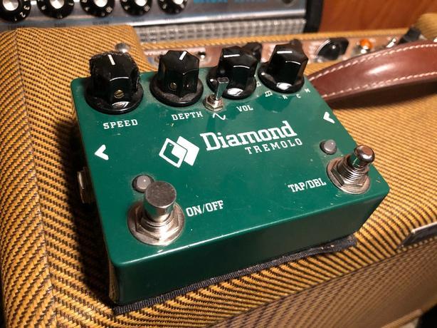 Diamond Tremolo with Tap Tempo