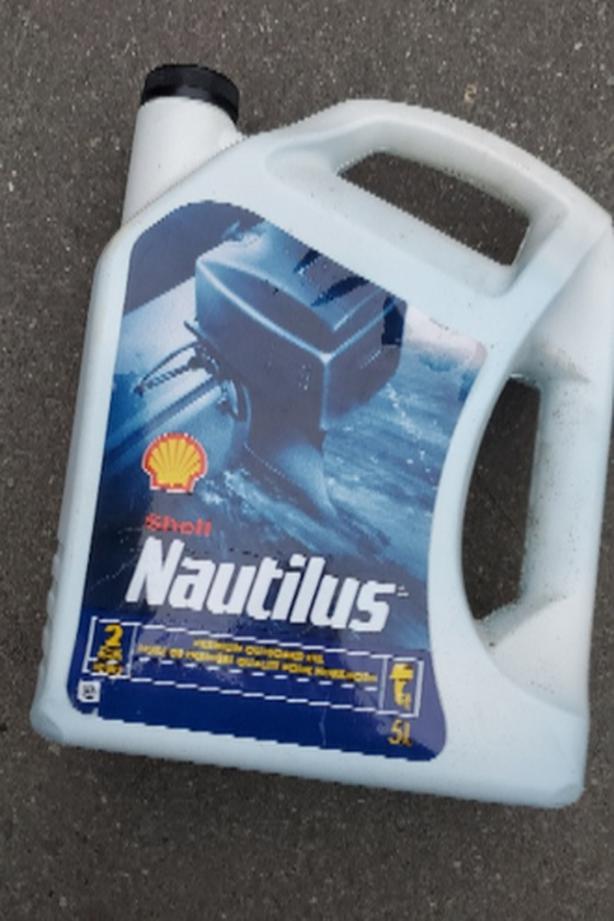 5L Jug of Shell Nautilus 2 Stroke oil