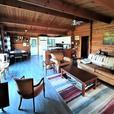 Log house, walk to ocean, on half acre