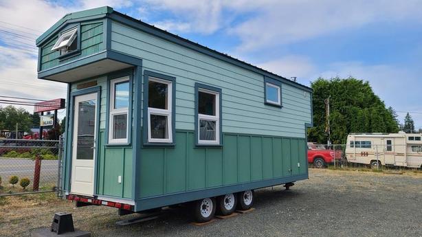 2018 Coastal Trailers 8x28 Tiny House on Wheels